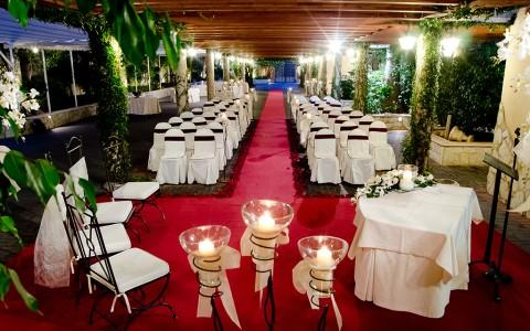 Ceremonia en jardín Casa Quiquet